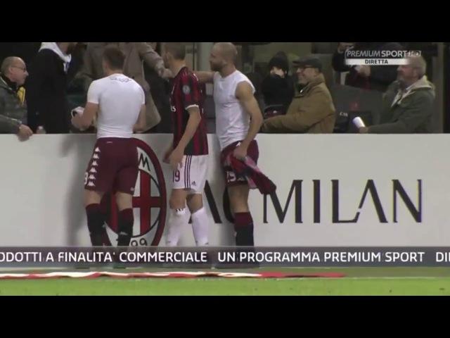 Il grande gol di Belotti regala la maglia al figlio di Bonucci