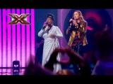Группа Yurcash и Liz Mitchell (Boney M.)  Sunny  Х-Фактор 8. Седьмой прямой эфир. ФИНАЛ