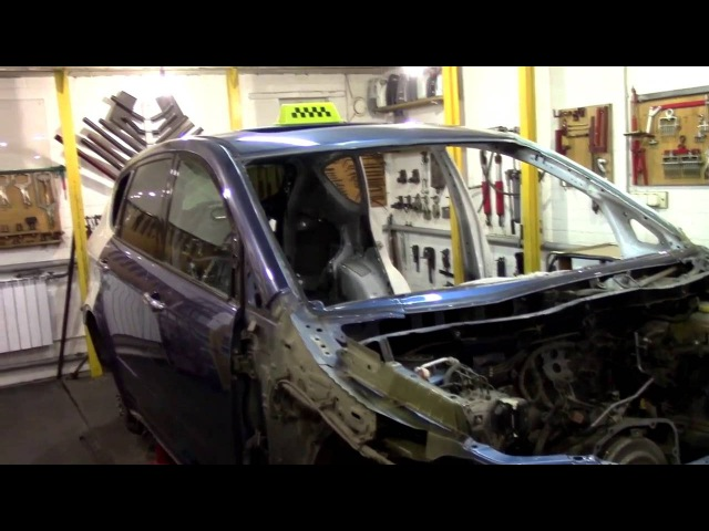 Кузовной ремонт. Трибека, финиш. Body repair.