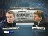Роспил Алексея Навального и Никиты Белых