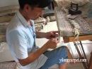Silk Hand Knotted Rugs Persain Handmade Carpet