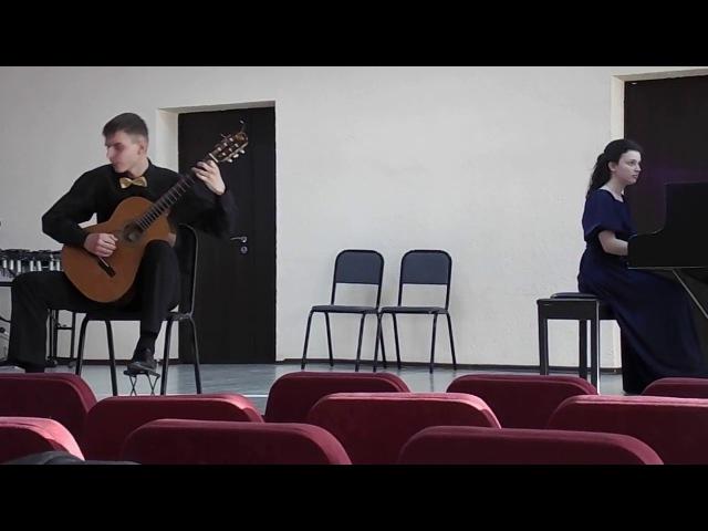 Fly me to the moon guitar Ilia Kovalev piano Anastasiya Kachur