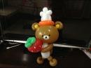造型氣球 拉拉熊 Rilakkuma bear balloon twisting