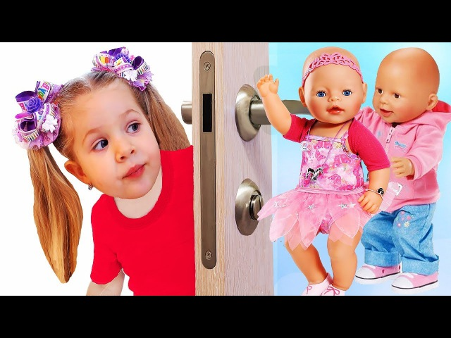 Сrying Baby doll, Are you sleeping Song Nursery rhymes Songs for kids by learn colors with