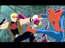 Великий Человек-Паук. Все серии подряд. Сборник мультфильмов Marvel о супергероях. Сезон 2 Серии 5-8