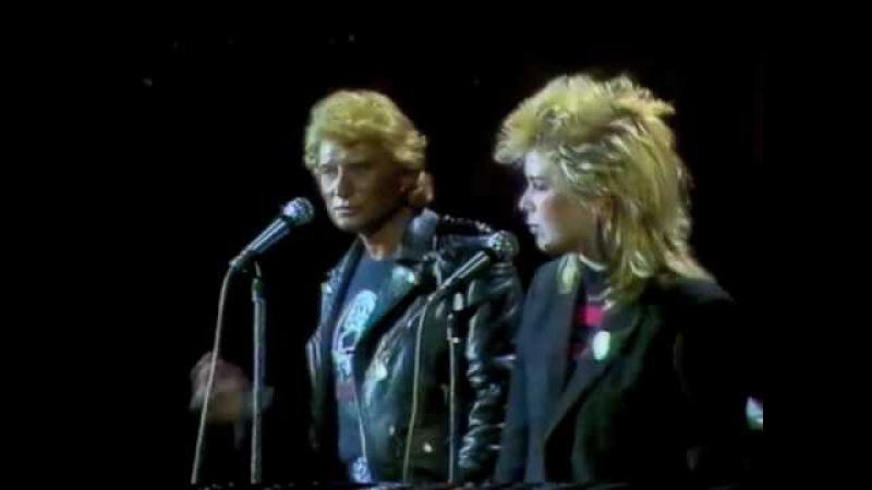 Johnny Hallyday et Kim Wilde - Teddy Bear -.