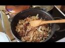ТУШЕНАЯ КАПУСТА С МЯСОМ(бигос) в КАЗАНЕ. Как приготовить вкусно.