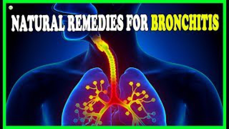 11 Natural Home Remedies For Bronchitis - How To Cure Bronchitis And Cough Naturally