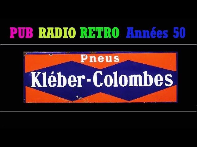 PUB RADIO RETRO ANNEES 50-KLEBER COLOMBES-LES DANSES POLOVTSIENNES