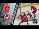 01/14/18 Condensed Game: Flames @ Hurricanes