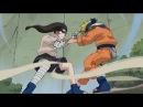 Наруто против Неджи Полный бой
