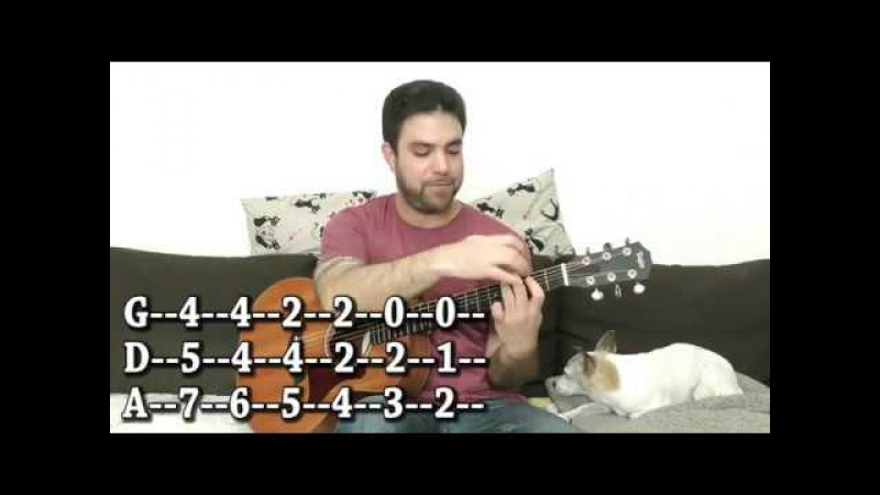 How to Play Cool, Old School Detective-Style Blues in Fingerstyle - Guitar Lesson Tutorial