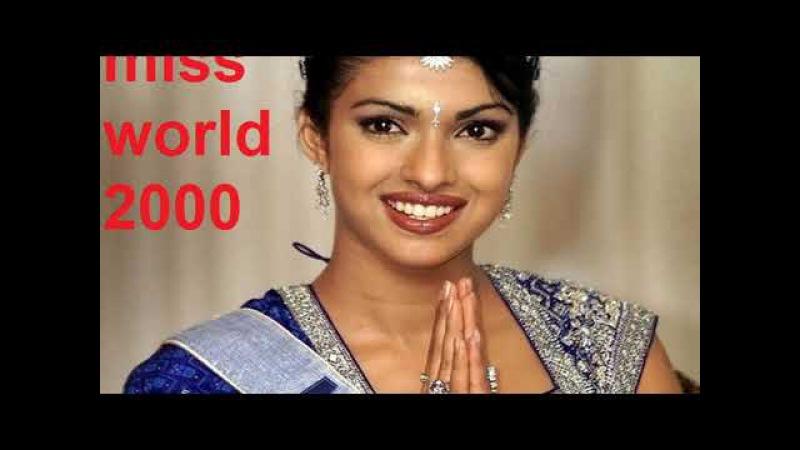 6 Beautiful ladies from India Who won Miss world crown 2017 Priyanka Chopra to Manushi Chillar