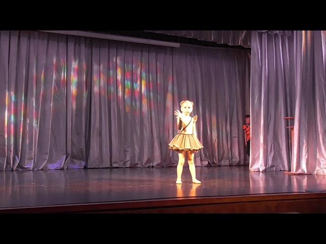 Ксения Худалей, 5 лет, международный конкурс Волна успеха