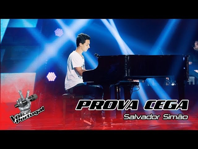 Salvador Simão - Give Me Love | Prova Cega | The Voice Portugal