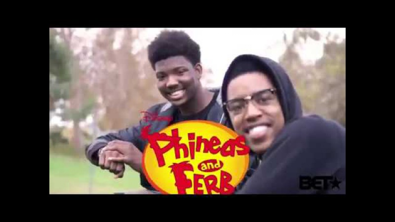 Phineas Ferb produced by BET by: KING VADER