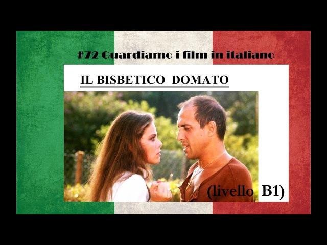 Урок 72, guardiamo i film in italiano. ''Il bisbetico domato (livello B1)