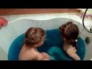 Синяя ванна с Джелли Baffy