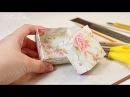 Как сделать коробочку для подарка за 10 минут