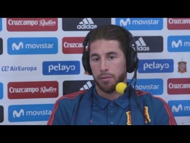 Sergio Ramos: Tengo abierta la puerta a Neymar por si quiere venir al Real Madrid