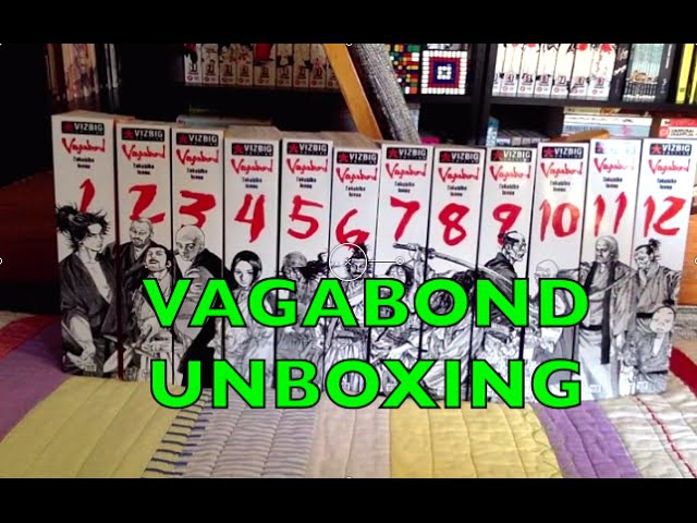 HUGE Vagabond Manga Unboxing Takehiko Inoue | Manga Haul