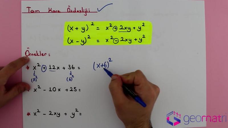 8. Sınıf Çarpanlara Ayırma 2 (TEOG) - Konu Anlatımı ve Soru Çözümleri