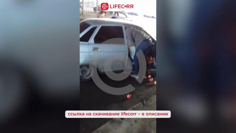 Гружёная гранатами легковушка попала в тройное ДТП в центре Москве