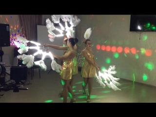 Шоу-балет Бархат - Светодиодные веера