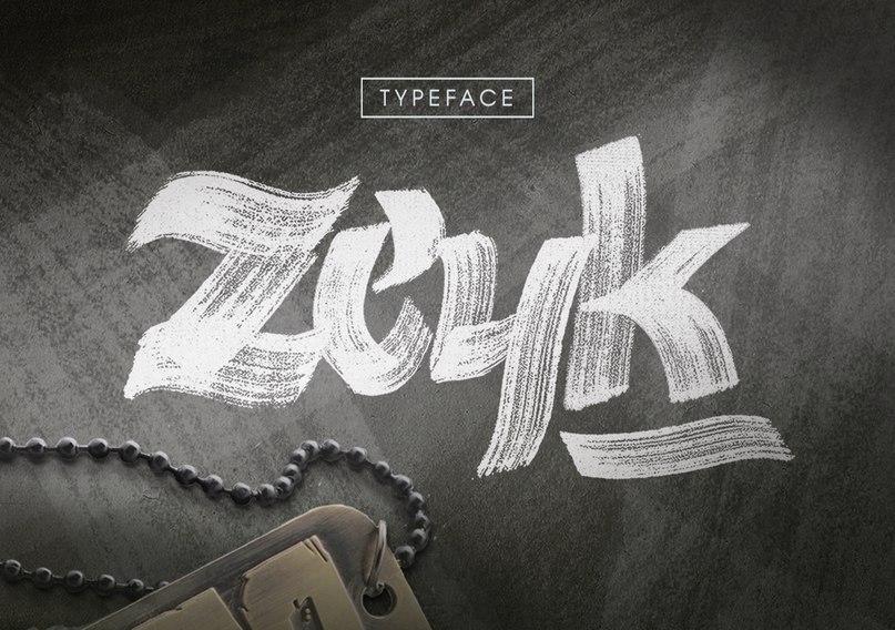 Шрифт zeyk