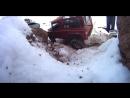 RC trucks in the snow RC4WD Gelande rescue Trail Finder 2