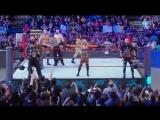 30.01.17 RAW - Bayley, Cesaro &amp Sheamus vs. Charlotte, Luke Gallows &amp Karl Anderson