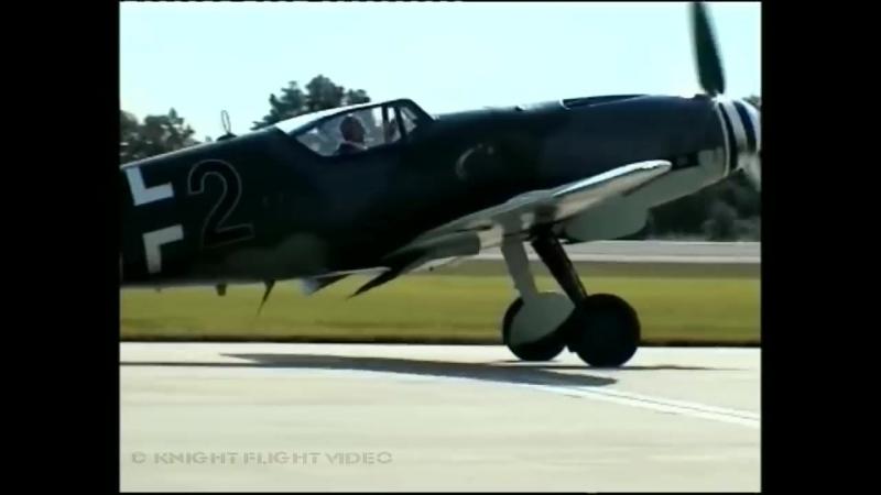 LAST FLYING MESSERSCHMITT BF_ME 109 G-10 WITH DAIMLER BENZ DB 605!
