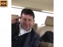 Сектант калиф ездит по Чеченской республике