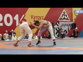 Триумф по кыргыз курошу