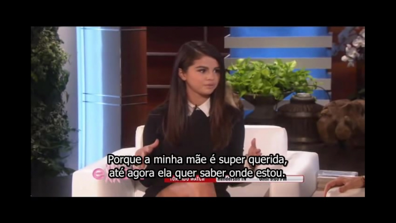 Selena Gomez on Ellen DeGeneres Show (13/10/2014)