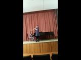 Вика Шанц играет Аве Мария Шуберта