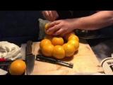 Кальян на апельсинах