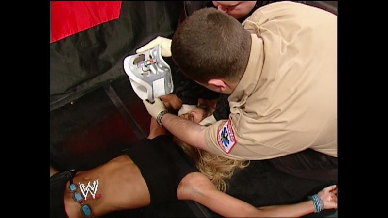 WWE Monday Night Raw 20th January 2003 - Chris Jericho vs Test