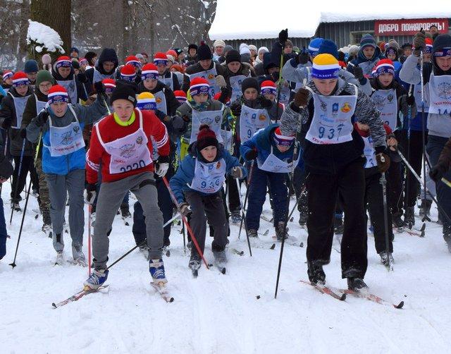 Массовый спортивный праздник «Лыжня России - 2017»