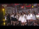 161229 Red Velvet & Various Artists - One Candle (G.O.D Cover) @ KBS Gayo Daechukje