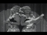 Alice Faye and Betty Grable rare song and dance routine