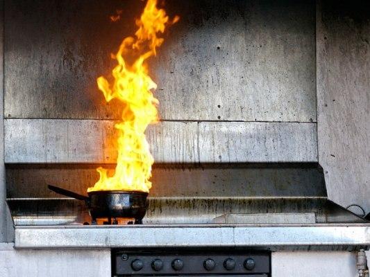 Количество «кухонных пожаров» в округе увеличилось
