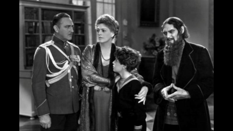 Распутин и императрица 1932