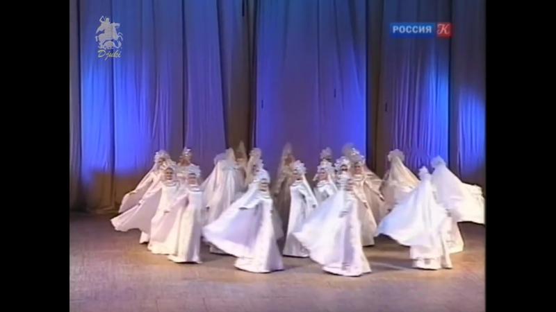 Северное сияние Polar lights Русский девичий хоровод 1