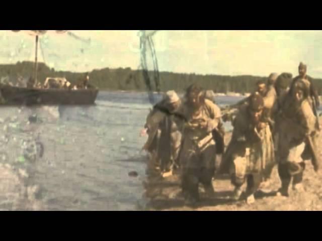 Клип Бурлацкая песня