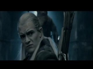 Legolas Playing To The Audience