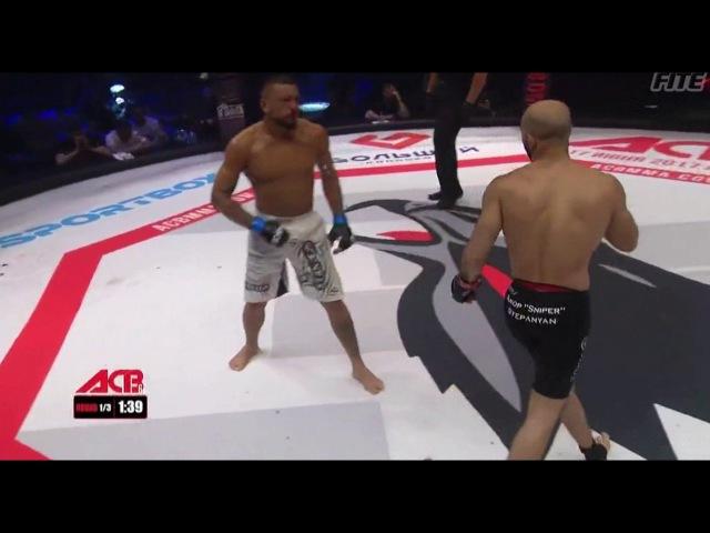ACB 62: Felipe Cruz (Brazil) - Akop Stepanyan (Russia)