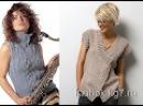 Безрукавки и жилеты схемы описания Часть 1 Knitted vests Gilets tricotés