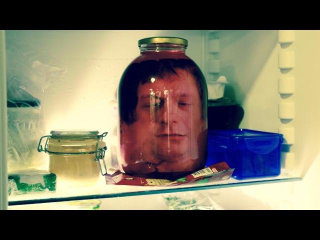 Отрубленная голова в холодильнике: пранк на Halloween / Severed head in the fridge: Halloween prank