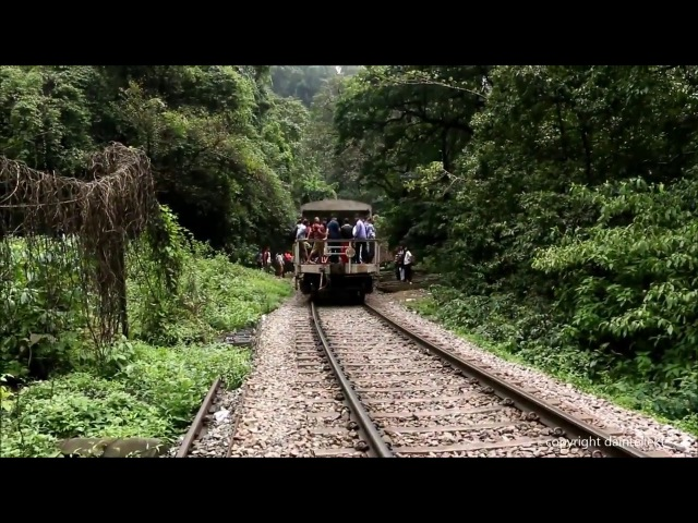 Goa Monsoon Train Through Dudhsagar Falls Tunne